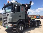 SCANIA 6X6 Do Lasu Epsilon G 480 6X6 HDS